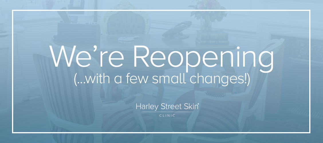 We're Reopening With a Few Small Changes!
