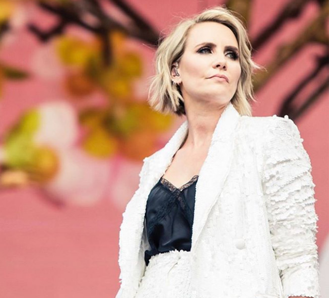 Claire Richards on Stage