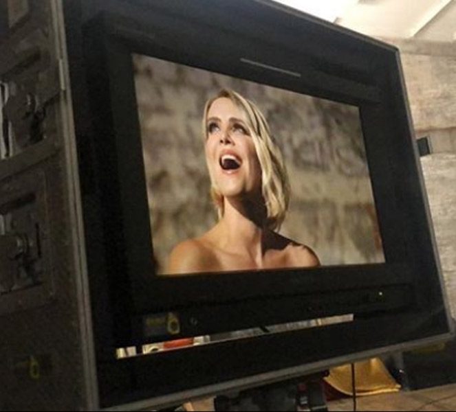 Claire Richards Music Video Playback