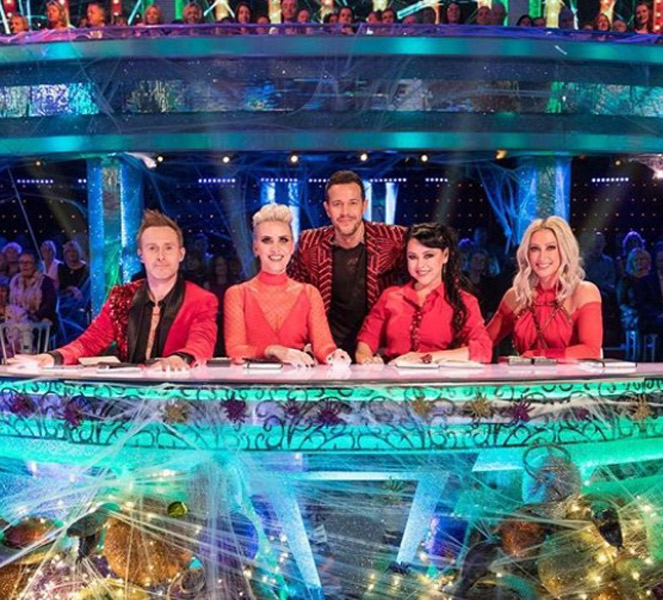 Claire Richards and Steps Band Mates on Strictly Panel