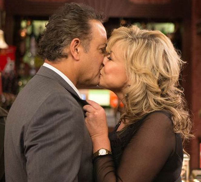Claire King Kiss