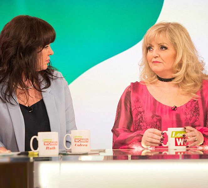 Linda Nolan Chatting