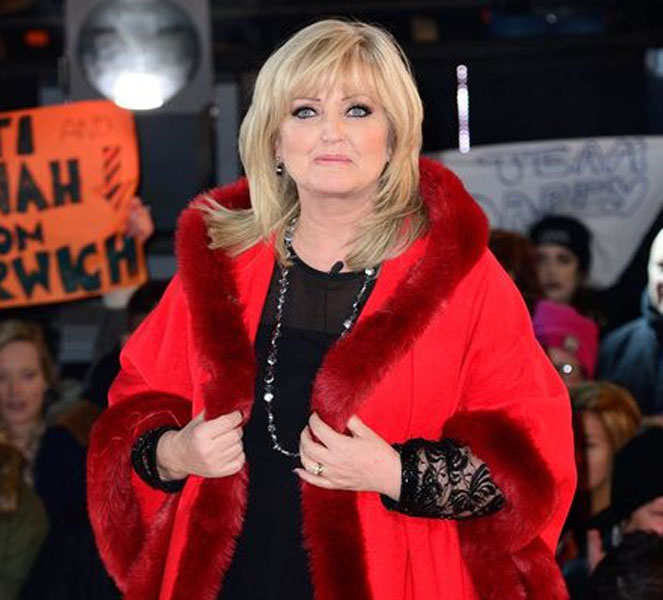 Linda Nolan Red Coat