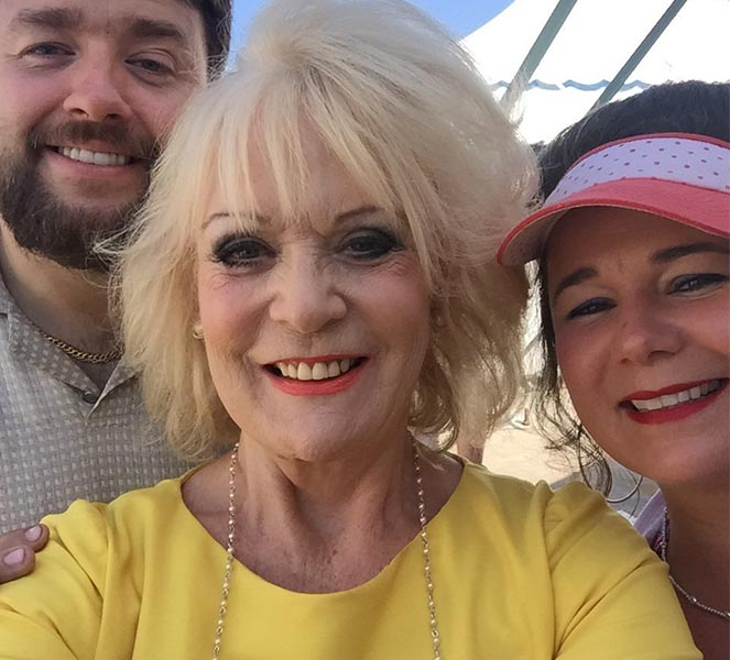 Sherrie Hewson and Daughter