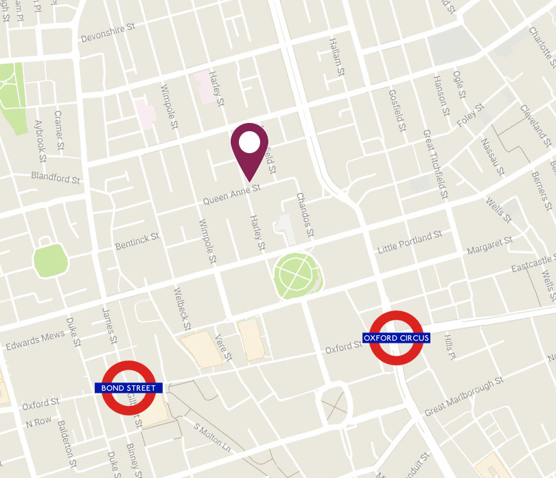 The Harley Street Skin Clinic Map